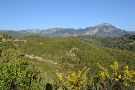 View over the Chelona mountain